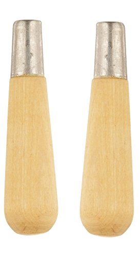 """Nicholson Size 1 21526N Type D Wooden File Handle 4-7//8/"""" Length Pack of 1"""