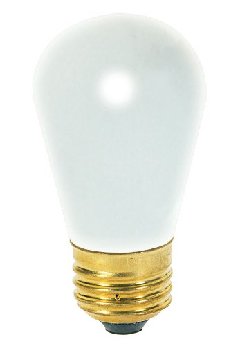 SATCO S3606 7.5W S11 E26 BASE CLEAR SCOREBOARD INCAND LIGHT BULB PACK OF 25